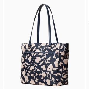 Kate Spade jae garden vine large tote NWT New
